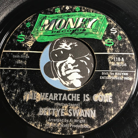 Bettye Swann - The Heartache Is Gone b/w Our Love - Money #118 - Northern Soul