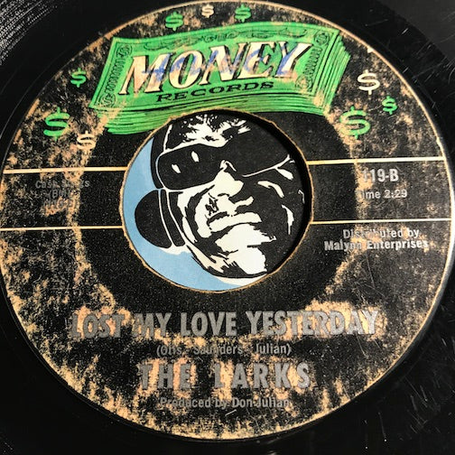 Larks - Lost My Love Yesterday b/w The Answer Came To Late - Money #119 - Sweet Soul