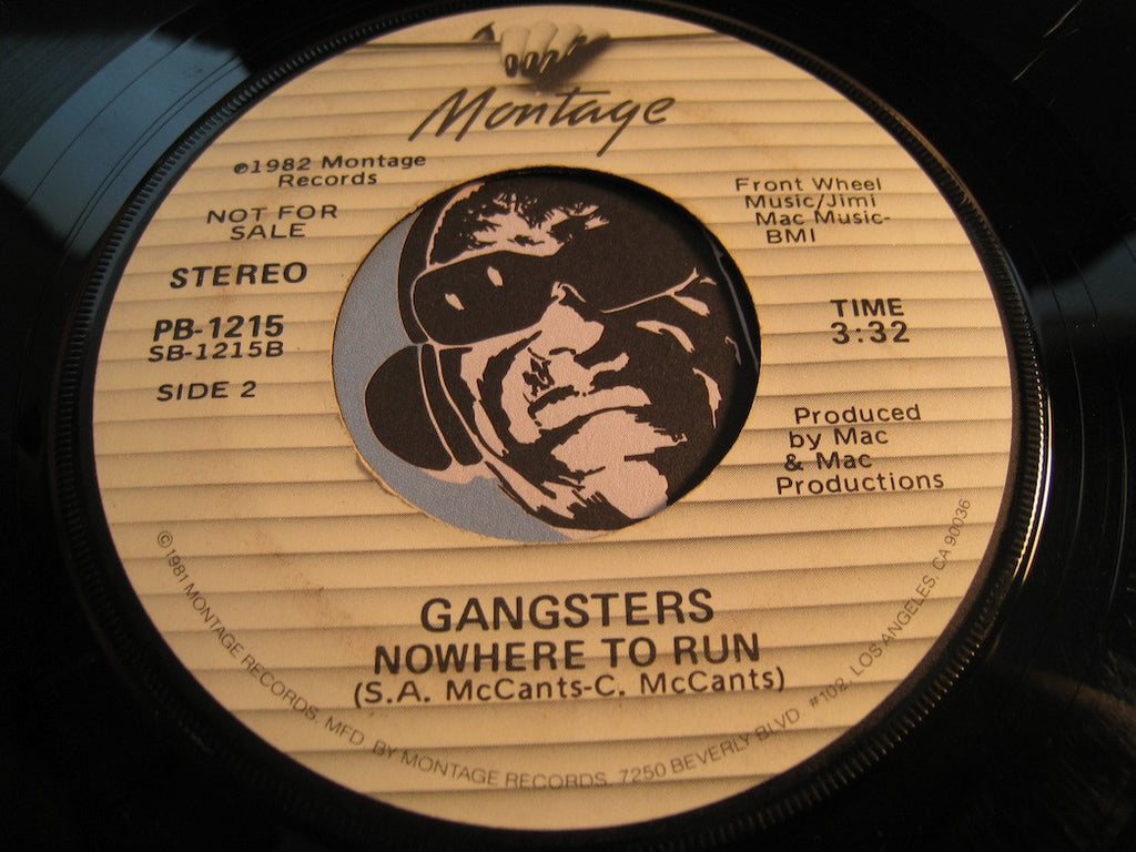 Gangsters - Precious b/w Nowhere To Run - Montage #1215 - Sweet Soul - Funk - Disco