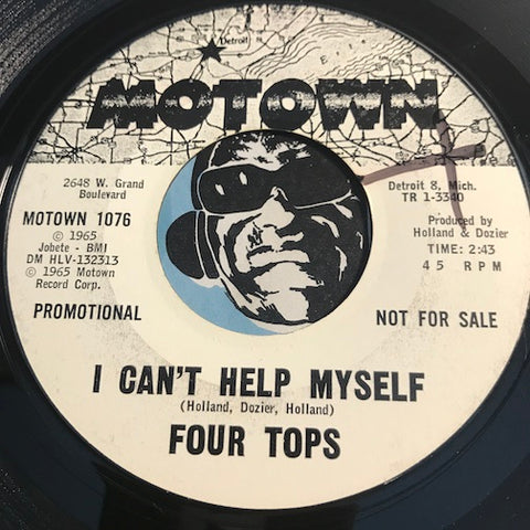 Four Tops - I Can't Help Myself b/w Sad Souvenirs - Motown #1076 - Northern Soul - Motown