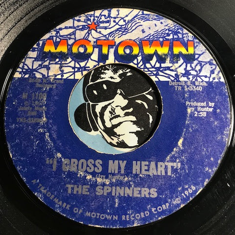 Spinners - I Cross My Heart b/w For All We Know - Motown #1109 - Motown - Northern Soul