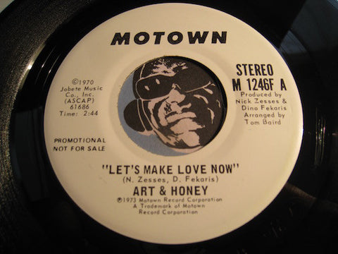 Art & Honey - Let's Make Love Now b/w same - Motown #1246 - Modern Soul - Motown