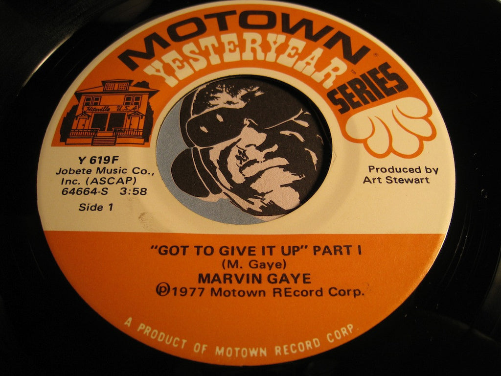 Marvin Gaye - Got To Give It Up pt.1 b/w pt.2 - Motown Yesteryear #619 - Funk - Motown