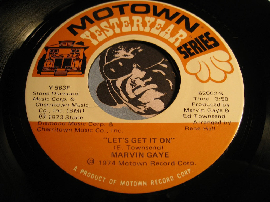 Marvin Gaye - Let's Get It On b/w Trouble Man - Motown Yesteryear #62062 - Motown