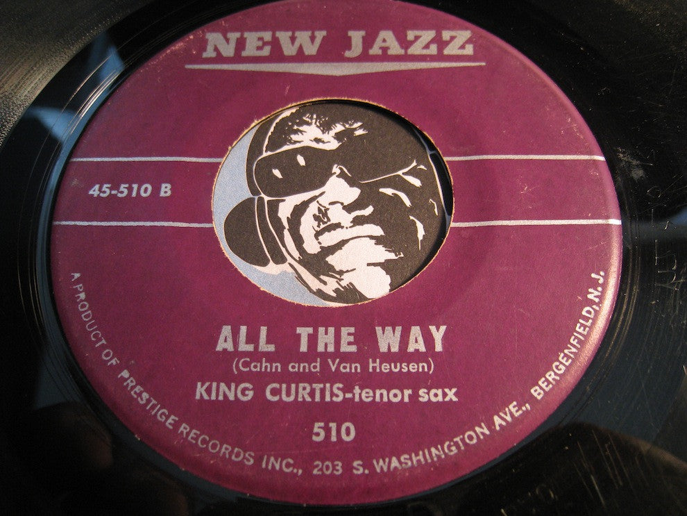 King Curtis - Soul Meeting b/w All The Way - New Jazz #510 - Jazz