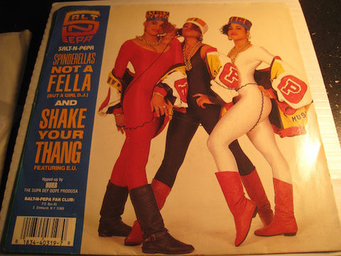 Salt N Pepa - Shake Your Thang b/w Spinderella's Not A Fella (But A Girl D.J) - Next Plateau #319 - Rap