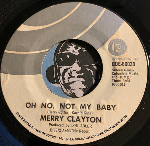 Merry Clayton - Oh No Not My Baby b/w Suspicious Minds - Ode #66030 - Modern Soul