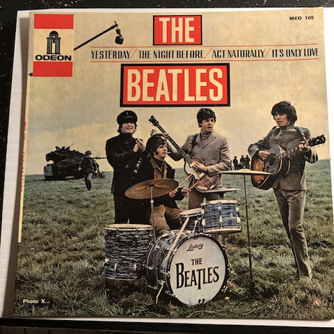 Beatles - French EP - Yesterday - The Night Before b/w Act Naturally - It's Only Love - Odeon #105 - Rock n Roll