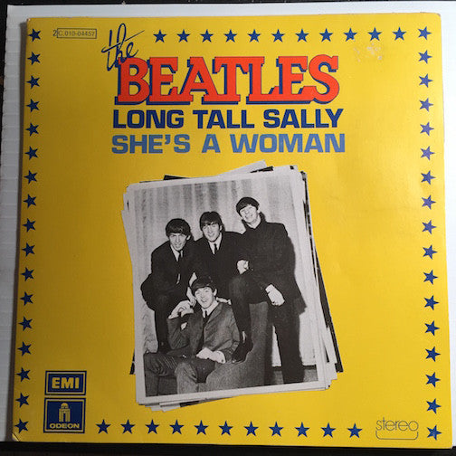 Beatles - Long Tall Sally b/w She's A Woman - Odeon #2C010-04.457 - Rock n Roll
