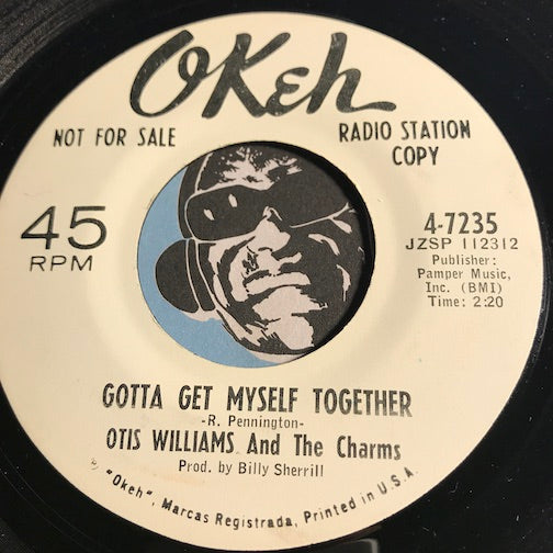 Otis Williams & Charms - Gotta Get Myself Together b/w I Fall To Pieces - Okeh #7235 - Northern Soul