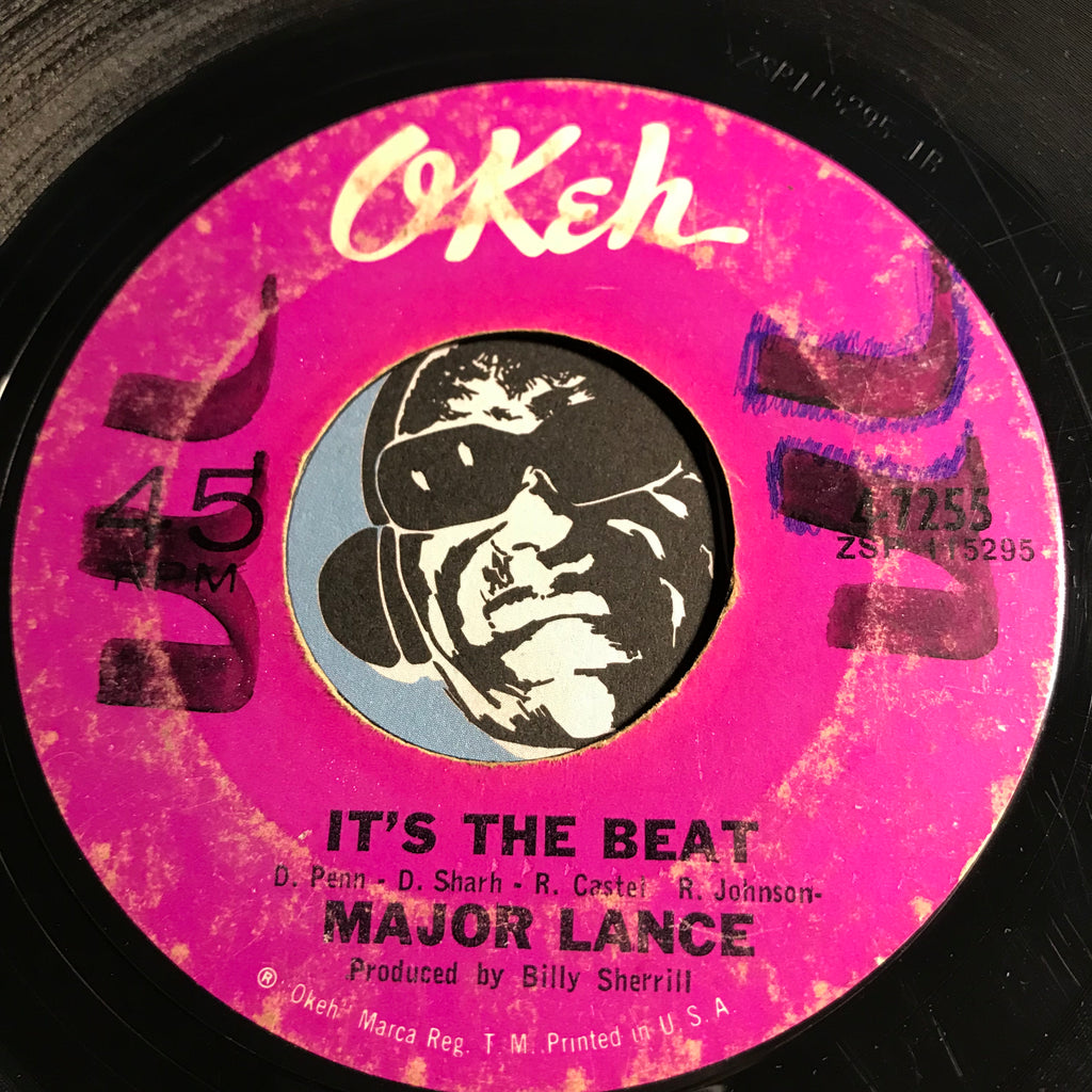 Major Lance - It's The Beat b/w You'll Want Me Back - Okeh #7255 - Northern Soul