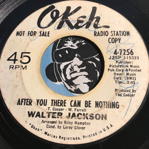 Walter Jackson - After You There Can Be Nothing b/w My Funny Valentine - Okeh #7256 - Northern Soul