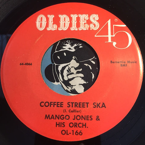 Mango Jones / Vocaleers  - Coffee Street Ska b/w Oh Where - Oldies 45 - Reggae / Doowop