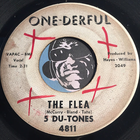 5 Du-Tones - The Flea b/w Please Change Your Mind - One-Derful #4811 - R&B Soul