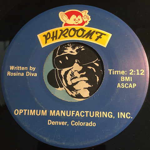 Phroomf - Phroomf b/w same - Optimum Manufacturing Inc #10405 - Christmas / Holiday