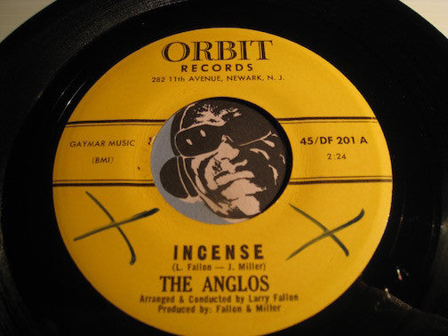 Anglos - Incense b/w Stepping Stone - Orbit #201 - Northern Soul