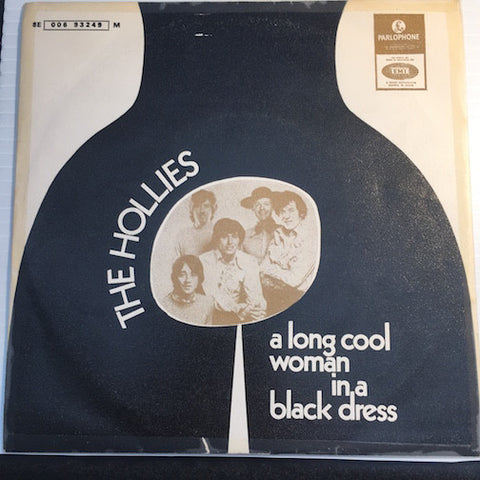 Hollies - A Long Cool Woman In A Black Dress b/w Cable Car - Parlophone #006-93249 - Rock n Roll