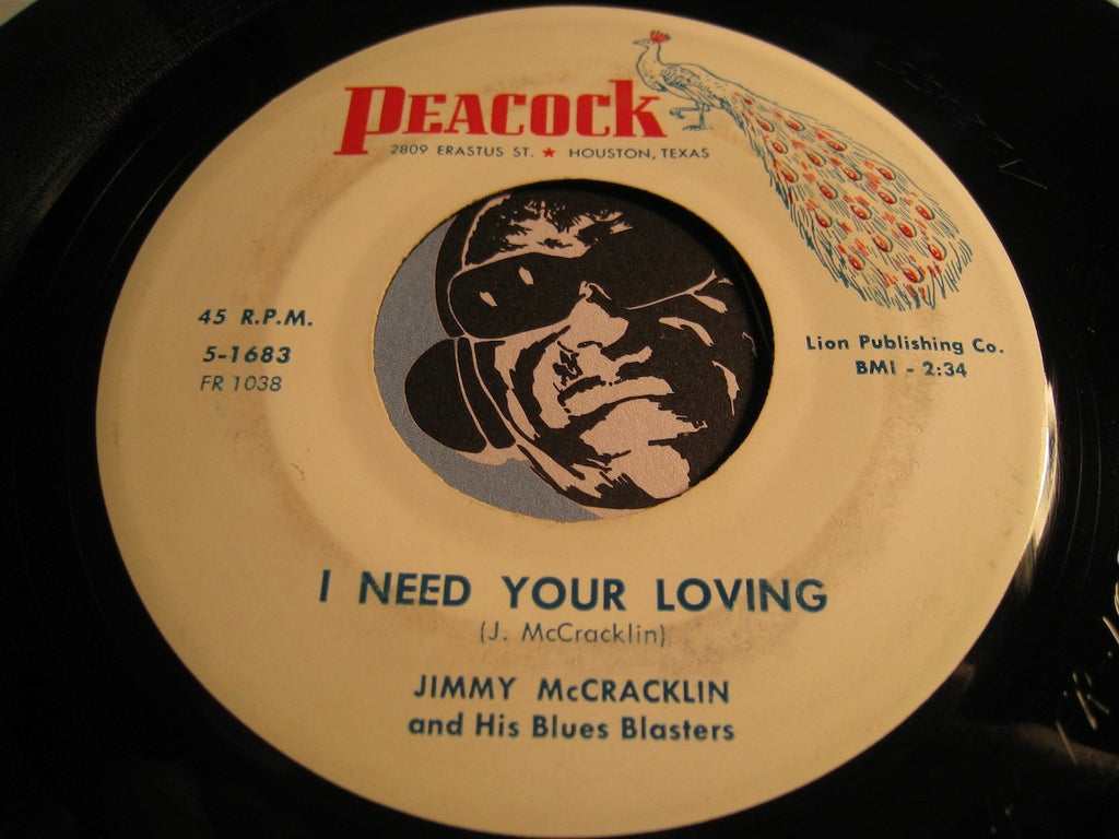 Jimmy McCracklin and his Blues Blasters