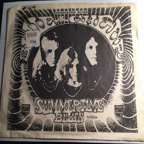 Blue Cheer - Summertime Blues b/w Out Of Focus - Philips #40516 - Psych Rock