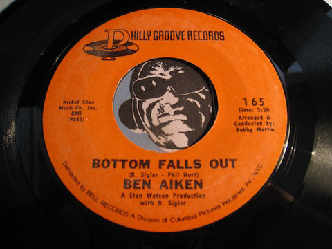 Ben Aiken - Bottom Falls Out b/w One And One Is Five - Philly Groove #165 - Modern Soul