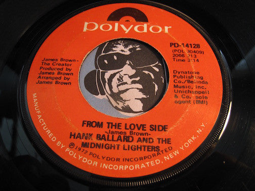 Hank Ballard & Midnight Lighters - From The Love Side b/w Finger Poppin Time - Polydor #14128 - Funk