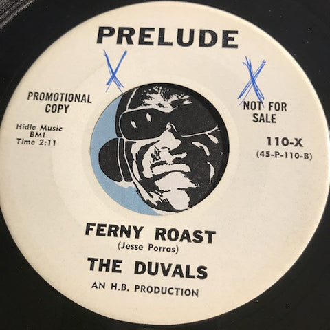 Duvals - Ferny Roast b/w The Last Surf – Prelude #110 - Surf