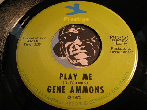 Gene Ammons - Play Me b/w Lady Sings The Blues - Prestige #757 - Jazz