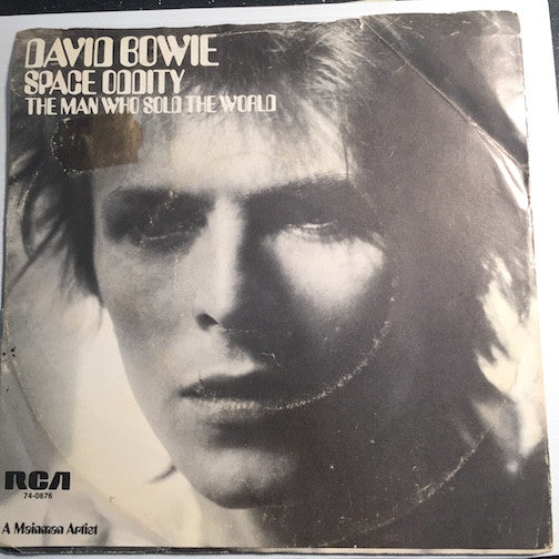 David Bowie - Space Oddity b/w The Man Who Sold The World - RCA #74-0876 - Rock n Roll