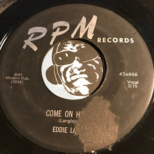 Eddie Lang - Come On Home b/w I'm Alone - RPM #466 - R&B - R&B Blues