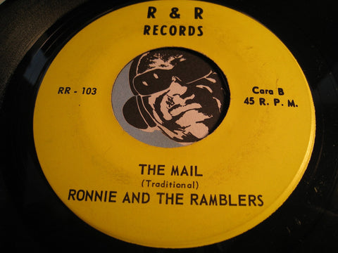 Ronnie and the Ramblers - Freedom b/w The Mail - R&R #103 - Reggae