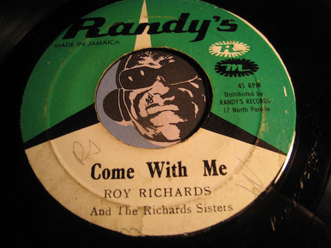 Roy Richards - Come With Me b/w Since I Found You - Randy's #1718 - Reggae