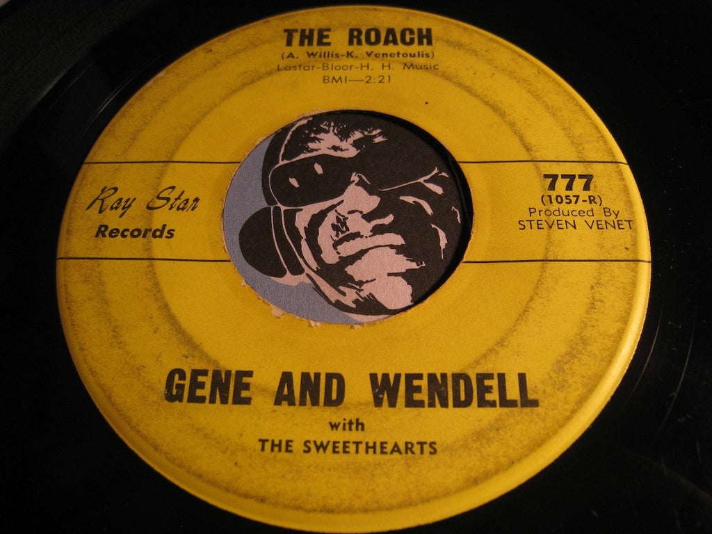 Gene & Wendell & Sweethearts - The Roach b/w From Me To You - Ray Star #777 - R&B