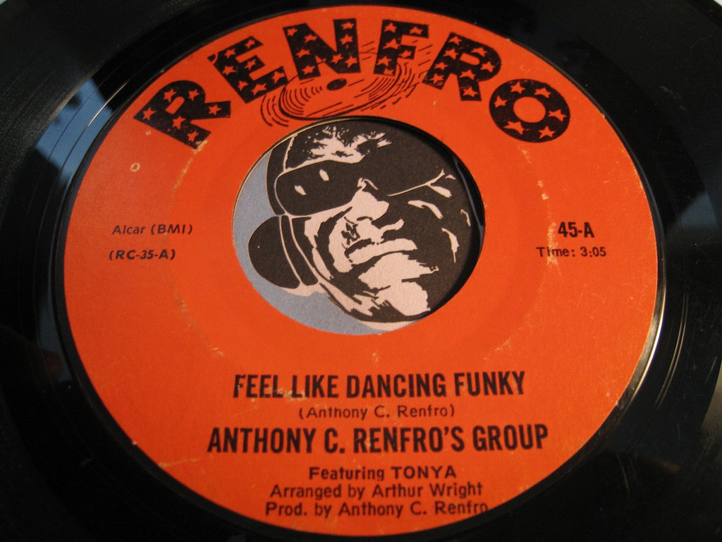 Anthony C. Renfro's Orchestra - Gloria's Theme b/w Feel Like Dancing Funky - Renfro #43 - Modern Soul
