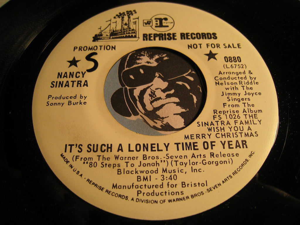 Nancy Sinatra - It's Such A Lonely Time Of Year b/w Kids - Reprise #0880 - Rock n Roll