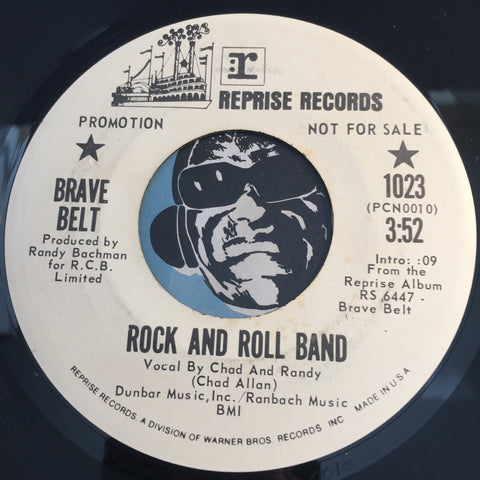Brave Belt - Rock And Roll Band b/w Anyday Means Tomorrow - Reprise #1023 - Rock n Roll