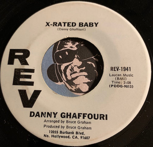 Danny Ghaffouri - X Rated Baby b/w The Lady - Rev #1941 - Country