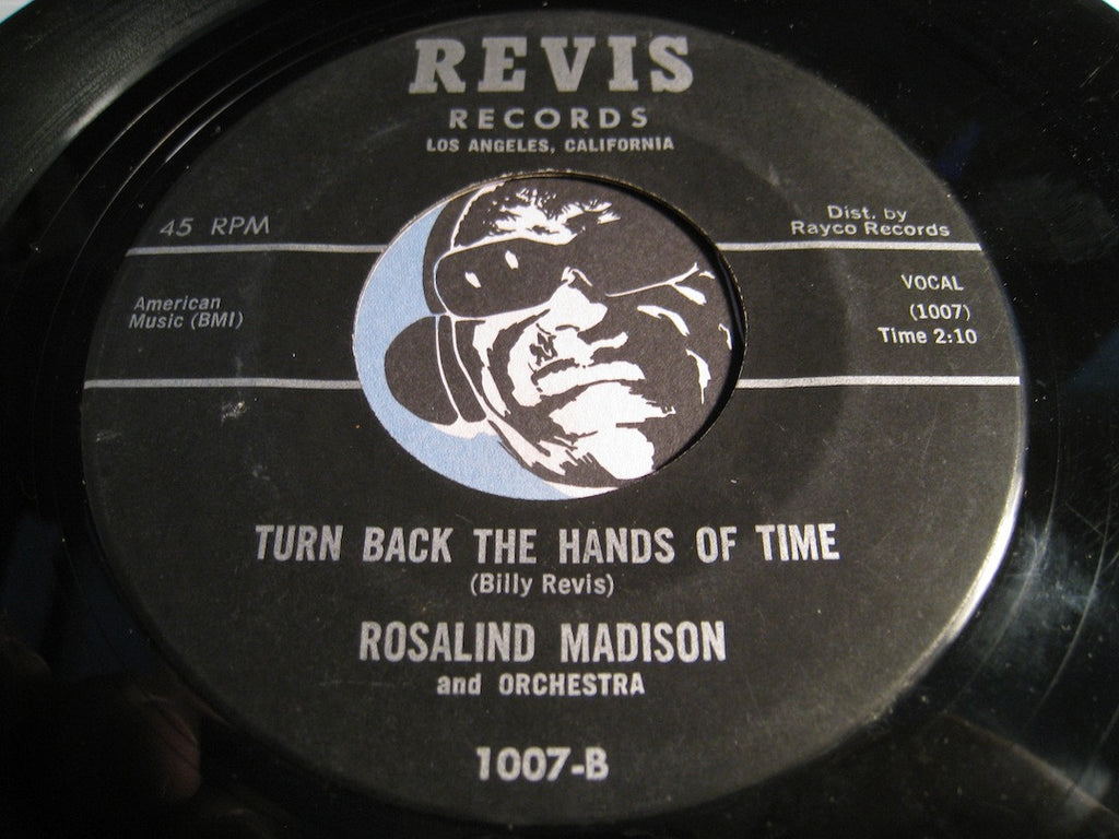 Rosalind Madison - Turn Back The Hands Of Time b/w Don't Deceive Me - Revis #1007 - Northern Soul