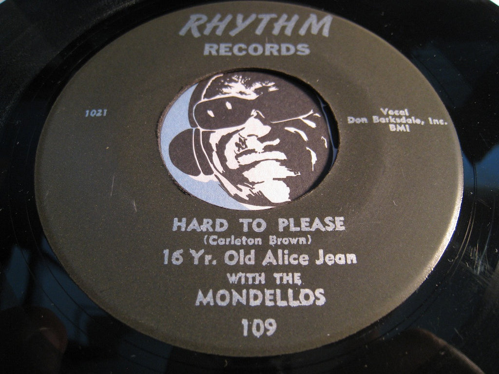 Mondellos - Hard To Please b/w Happiness Street - Rhythm #109 - Doowop