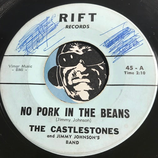 Castlestones - No Pork In The Beans b/w Goodnight - Rift #45 - Doowop