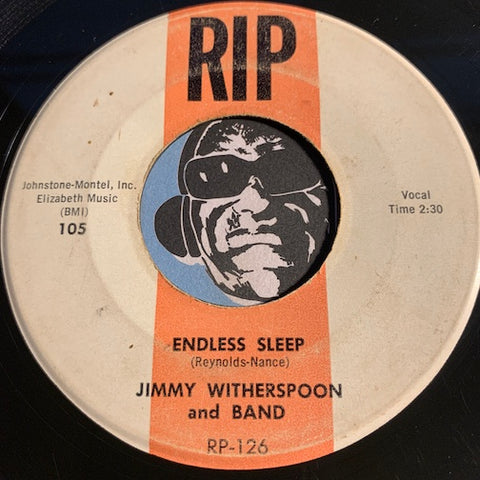 Jimmy Witherspoon - Endless Sleep b/w Coming Home - Rip #105 - R&B - Rockabilly