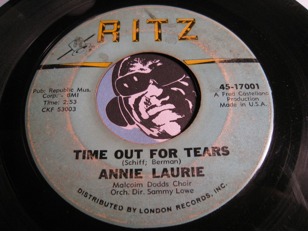 Annie Laurie - Trouble In Mind b/w Time Out For Tears - Ritz #17001 - R&B