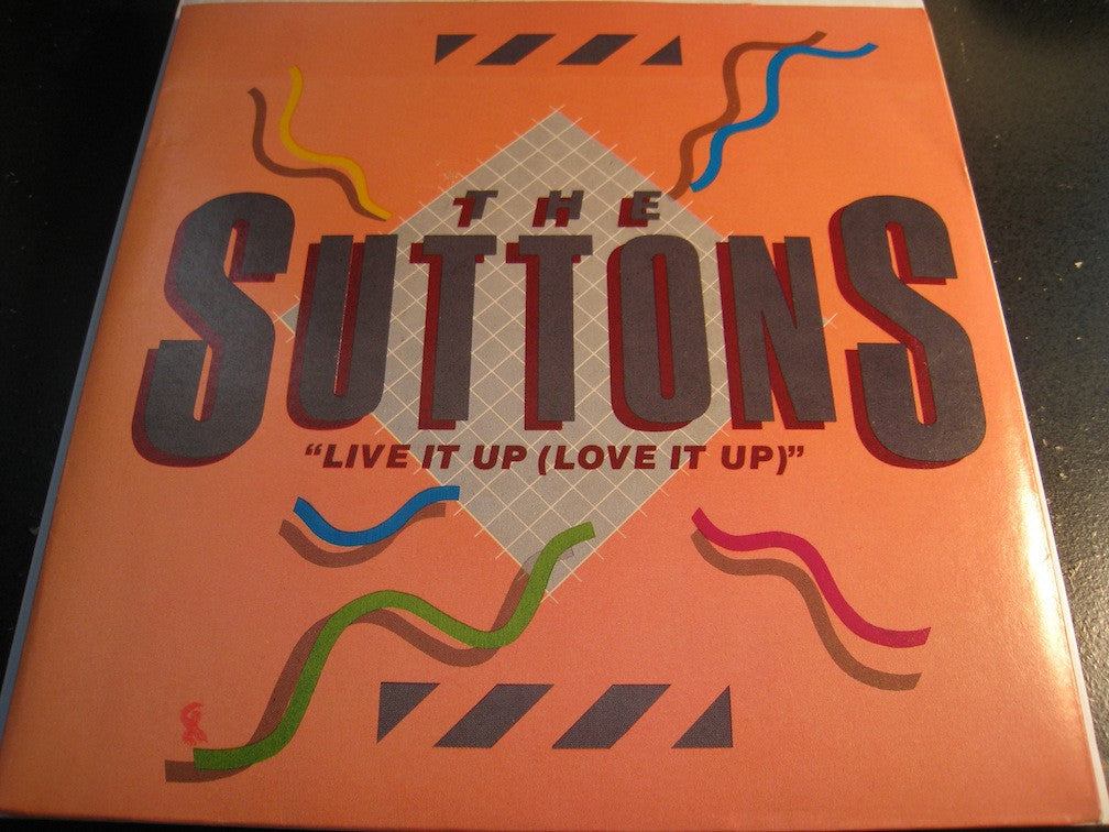 Suttons - Live It Up (Love It Up) b/w Kraazy - Rocshire #95060 - Modern Soul