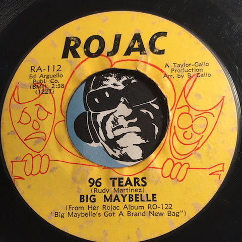 Big Maybelle - 96 Tears b/w That's Life - Rojac #112 - Northern Soul