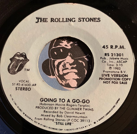 Rolling Stones - Going To A Go Go b/w Beast Of Burden - Rolling Stones #21301 - Rock n Roll