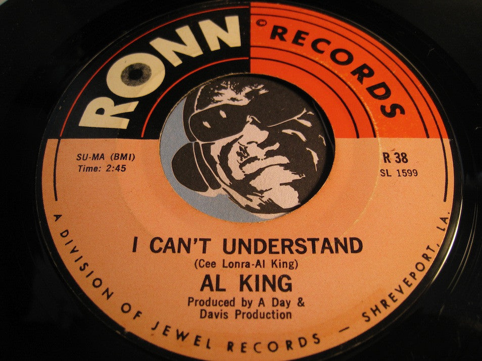 Al King - I Can't Understand b/w What You're Looking For - Ronn #38 - Blues