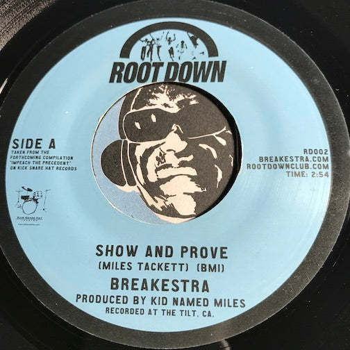 Breakestra - Show And Prove pt.1 b/w pt.2 - Root Down #002 - Funk