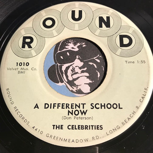 Celebrities - A Different School Now b/w Come Dream With Me - Round #1010 - Teen - Doowop