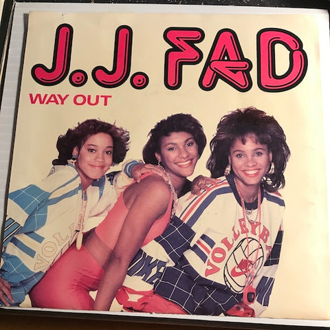 J.J. Fad - Way Out b/w Now Really - Ruthless #7-99285 - Rap