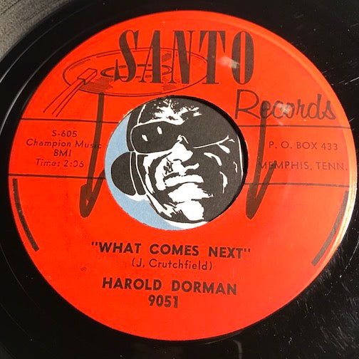 Harold Dorman - What Comes Next b/w Ain't Gonna Change - Santo #9051 - Rockabilly - Teen