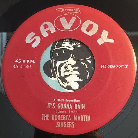 Roberta Martin Singers - It's Gonna Rain b/w Oh How Much He Cared For You - Savoy #4140 - Gospel Soul